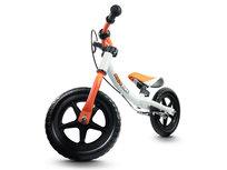 Rico, Rowerek biegowy z hamulcem, biało-pomarańczowy
