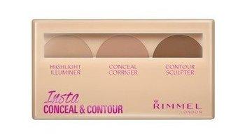 Rimmel, Insta Conceal Contour, paletka do konturowania twarzy 020 Medium, 8,4 g-Rimmel