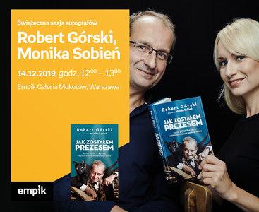 Robert Górski, Monika Sobień – świąteczna sesja autografów