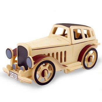 Robotime, puzzle 3D drewniany model Klasyczne Auto-Robotime