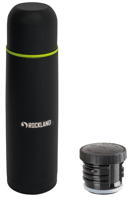 Rockland, Termos turystyczny, Helios, czarno-zielony, 1l