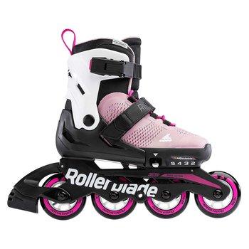 Rollerblade, Łyżworolki dla dzieci, Microblade G 07101900T93 r. 33-36.5, różowo-czarne-Rollerblade