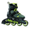 Rollerblade, Rolki dziecięce, Maxx, czarno-zielony, rozmiar 33/36 1/2-Rollerblade