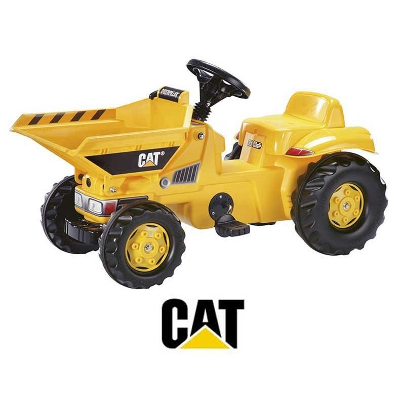 Rolly Toys, traktor na pedały Dumper Caterpillar - Rolly Toys
