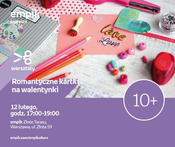 Romantyczne kartki na Walentynki | Empik Złote Tarasy