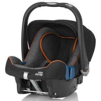 Romer, Baby Safe Plus, Fotelik samochodowy, 0-13 kg, Black Marble-Romer