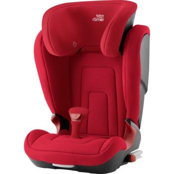 Romer, Kidfix 2 R, Fotelik samochodowy, 15-36 kg, Fire Red