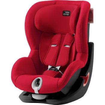 Romer, King II Black Series, Fotelik samochodowy, Fire Red, 9-18 kg -Romer