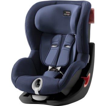 Romer, King II, Fotelik samochodowy, 9-18 kg, Black Series, Moonlight Blue-Romer