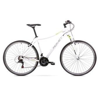 """Romet, Rower cross, Orkan LTD R18 M Da 28"""", biały-Romet"""