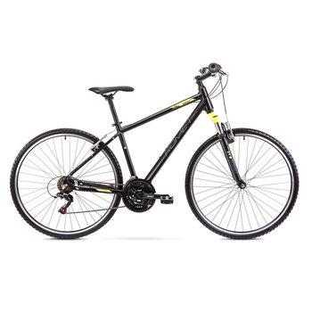 """Romet, Rower cross, Orkan LTD R20 L Me Kolekcja 2020 28"""", czarno-żółty-Romet"""