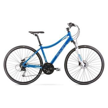 """Romet, Rower crossowy, damski, Orkan 4D 28"""", niebieski-Romet"""