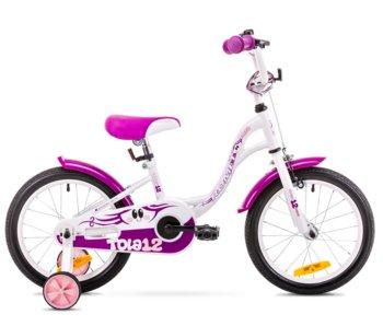 Romet, rower dziecięcy Tola biało-fioletowa 2019 2019-Romet