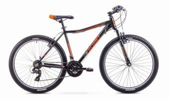 """Romet, Rower górski, Rambler JR, czarno-pomarańczowy, 26""""-Romet"""