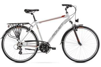"Romet, Rower trekkingowy, 21"", Wagant 1 L, srebrny-Romet"