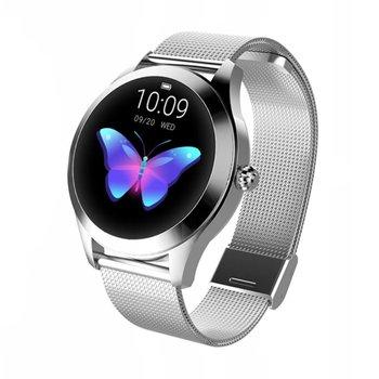 Roneberg, Smartwatch damski, Smartband RKW10, srebrny-Roneberg
