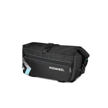 Roswheel, Sakwa na bagażnik z paskiem, czarna, 6l-Roswheel