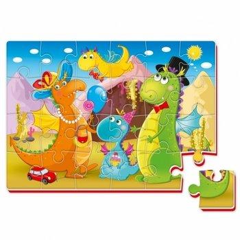 Roter Kafer, puzzle Dinozaury-Roter Kafer