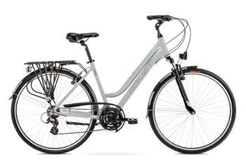 """Rower Romet Gazela 1 M Kolekcja 2021 17"""", jasnoszaro- zielony 2021-Romet"""