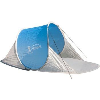 Royokamp, Namiot parawan plażowy samorozkładający, niebieski, 200x114x85 cm-Royokamp