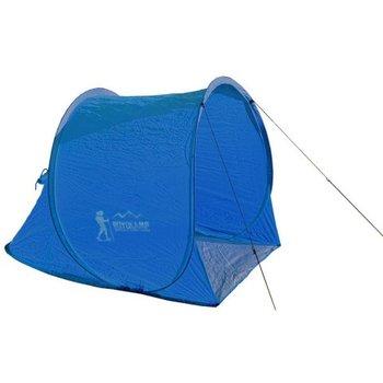 Royokamp, Namiot plażowy, samorozkładający, niebieski, 145x105x100/75 cm-Royokamp