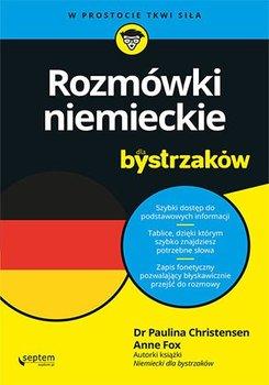 Rozmówki niemieckie dla bystrzaków-Christensen Paulina, Fox Anne