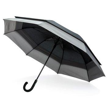 """Rozszerzany parasol automatyczny 23"""" do 27"""" Swiss Peak Czarny-SWISS PEAK"""
