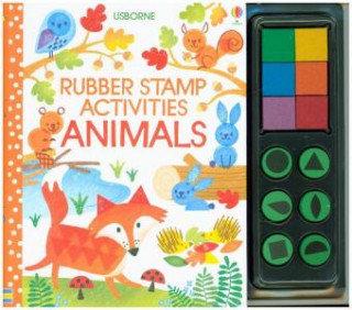 Rubber Stamp Activities Animals-Watt Fiona