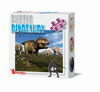 Russell, puzzle Dinozaury-Russell