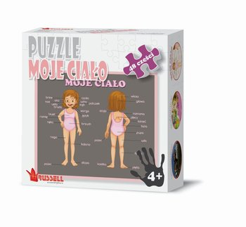 Russell, puzzle Moje ciało-Russell