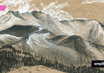 Rysowanie krajobrazu węglem