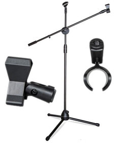 SAIBU KH38 - Statyw, Uchwyt, Trójnóg do Mikrofonu Uniwersalny - 2m