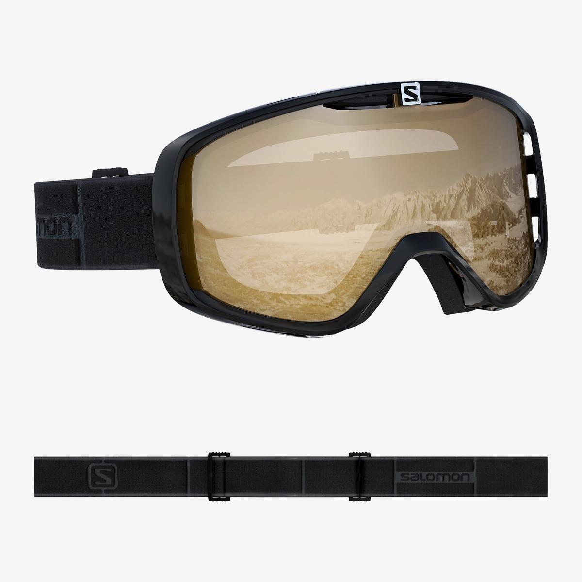 Salomon, Gogle narciarskie, Aksium Access, czarny