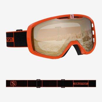 Salomon, Gogle narciarskie, Aksium Access, pomarańczowy, S2-Salomon