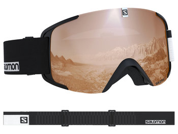 Gogle narciarskie Aksium Access Salomon (blacktonic orange