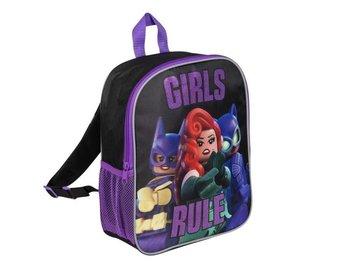 Sambro, plecak przedszkolny, Lego Batman, Girl Rule, czarno-fioletowy-Sambro