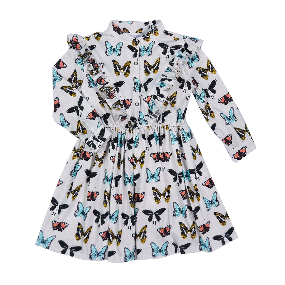 Samodobro, Sukienka z długim rękawem, rozmiar 128