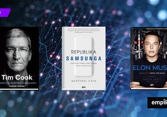 Samsung, Apple i SpaceX. Najważniejsze książki o technologicznych gigantach