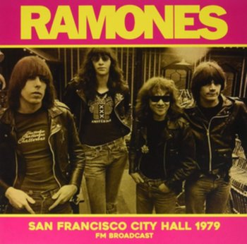 San Francisco City Hall 1979 - Ramones