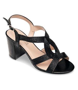 Sandałki damskie Laura Mode QL-118 Czarne - 40-LAURA MODE