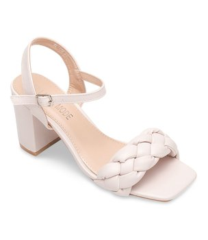 Sandałki damskie Laura Mode QL-175 Beżowe - 38-LAURA MODE