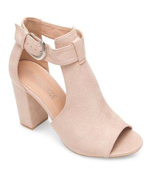 Sandałki damskie Laura Mode QL-97 Beżowe - 36-LAURA MODE