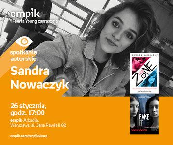 Sandra Nowaczyk | Empik Arkadia