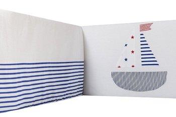 Sango Trade, Ochraniacz na szczebelki do łóżeczka, 180 cm, Marynarski Statek-Sango Trade