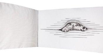Sango Trade, Ochraniacz na szczebelki do łóżeczka, 420 cm, Śpiący Kotek -Sango Trade