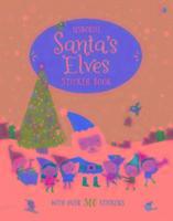 Santa's Elves Sticker Book-Watt Fiona