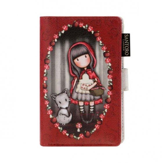 Santoro London, Gorjuss mały portfel, czerwony
