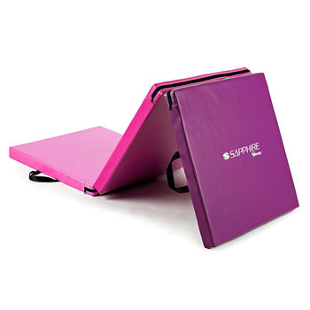 Sapphire, Materac gimnastyczny SH-110, różowo-fioletowa-Sapphire