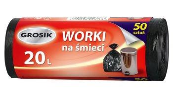 Sarantis Jan Niezbędny Grosik Worki na śmieci 20L  1op-50szt-Sarantis