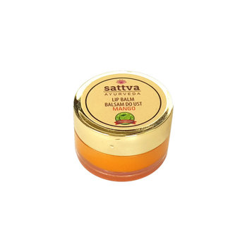 Sattva, Ayurveda, balsam do ust, mango, 5 g-Sattva